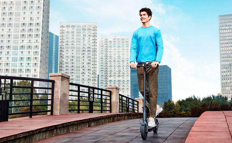 Patin eléctrico Xiaomi Mijia M365 velocidad máxima y autonomía