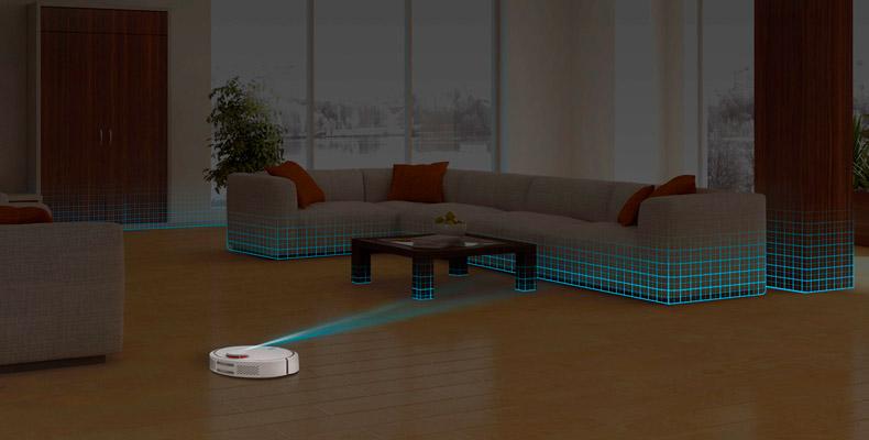 Robot Vacuum 2 mapeado virtual 360
