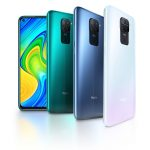 Xiaomi Redmi Note 9 colores