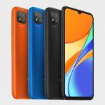 Xiaomi Redmi 9C colores